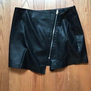 """BB Dakota faux leather """"skort"""""""